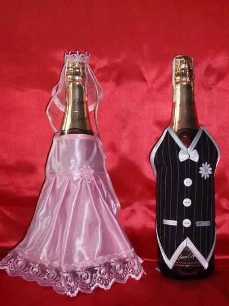 Шампанское в костюме жениха своими руками 130